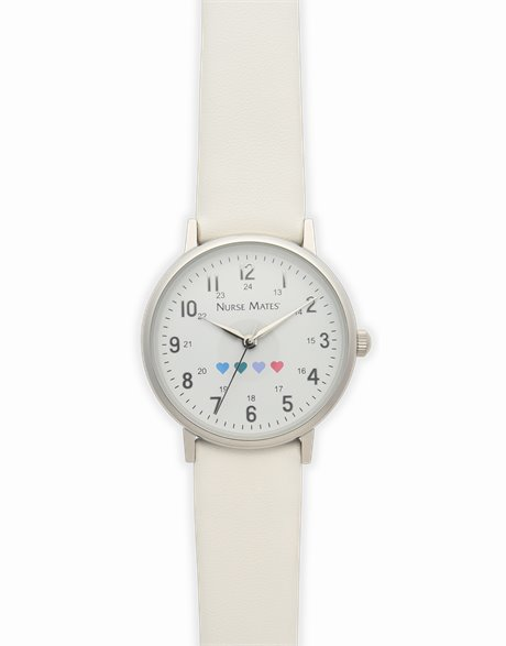 Heart Watch shown in white