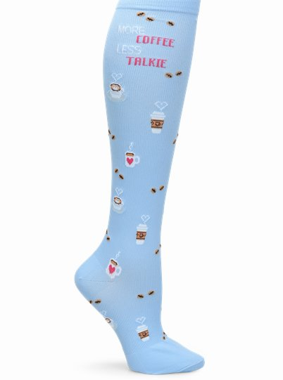 Compression Socks accessories shown in coffee talkie