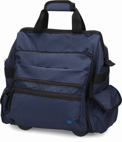 Ultimate Signature Traveler accessories shown in Navy