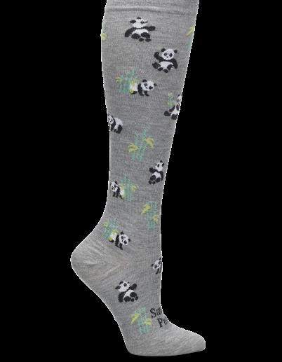 Nursemates Endangered Species Compression Socks - Save the Pandas