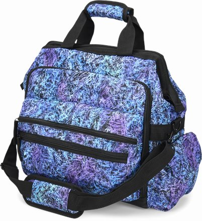 Ultimate Nursing Bag accessories shown in Amethyst