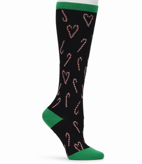 Compression Socks shown in sweet but twisted