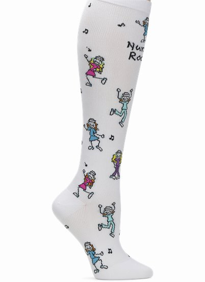 Compression Socks accessories shown in Nurses Rock