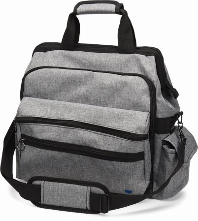 Ultimate Nursing Bag accessories shown in Grey