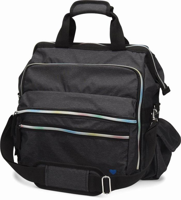 Ultimate Nursing Bag accessories shown in Rainbow