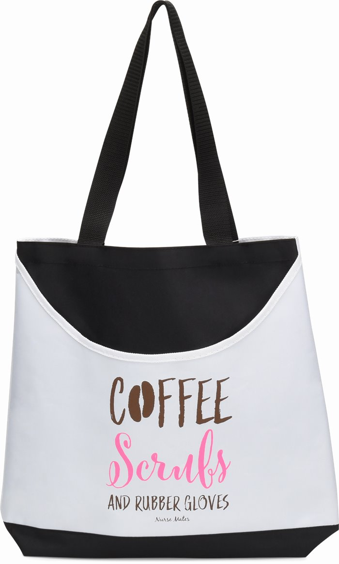 Scoop Tote accessories shown in Coffee