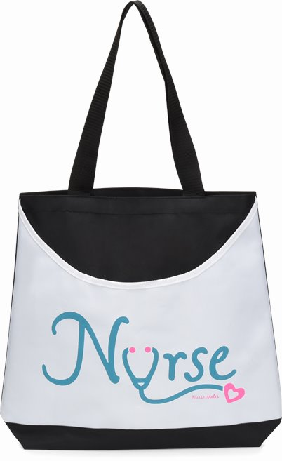 Scoop Tote accessories shown in NURSE Love