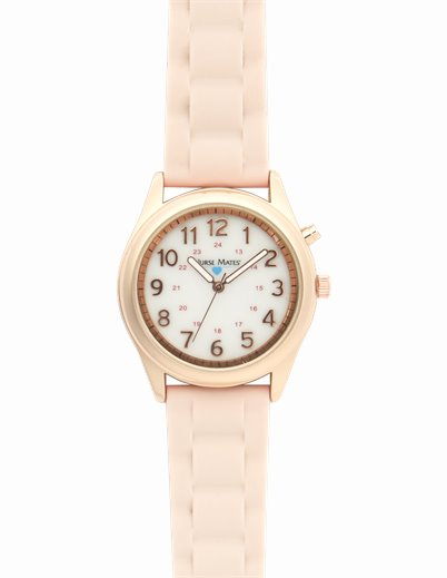Light Up Watch accessories shown in Blush Pink