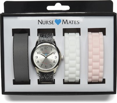 Multi Strap Watch accessories shown in Silicone Straps