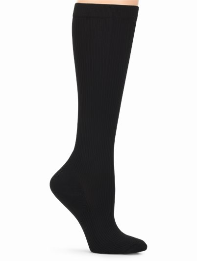 Medical Grade Compression accessories shown in black