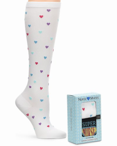 gift box compression socks accessories shown in super nurse