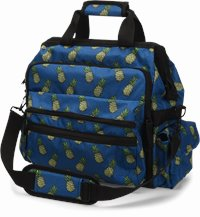 Ultimate Nursing Bag accessories shown in Pineapples