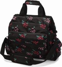 Ultimate Nursing Bag accessories shown in confetti roses