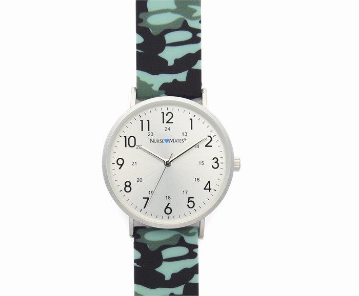 Camo Silicone Watch accessories shown in Camo