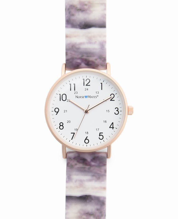 Marble Watch accessories shown in Grey & Rose Gold