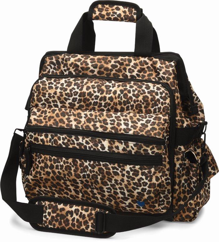 Ultimate Nursing Bag accessories shown in Cheetah