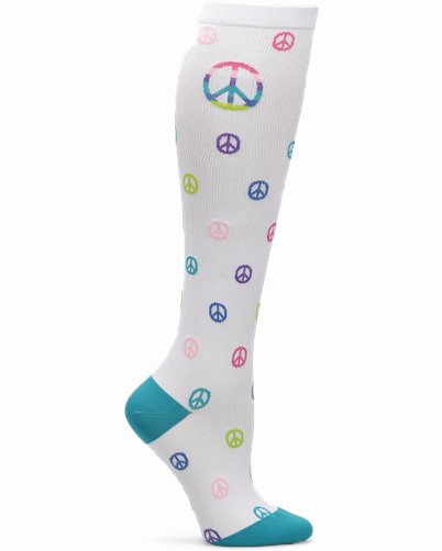 Compression Socks accessories shown in Peace Out