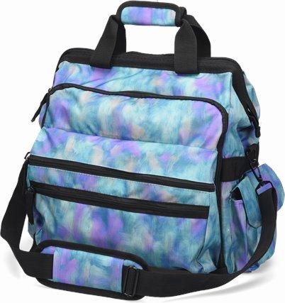 Ultimate Nursing Bag accessories shown in Violet Mist