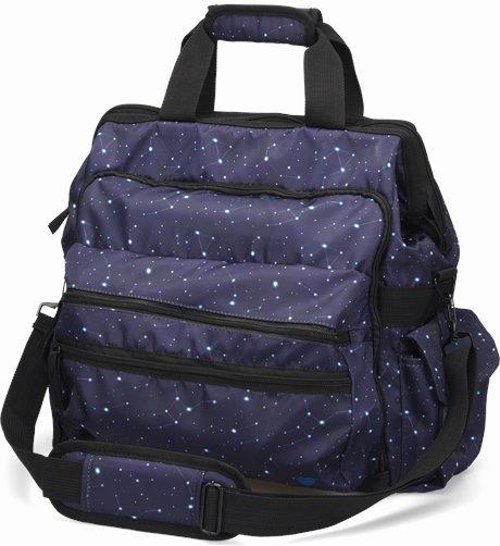 Ultimate Nursing Bag shown in Celestial Sky