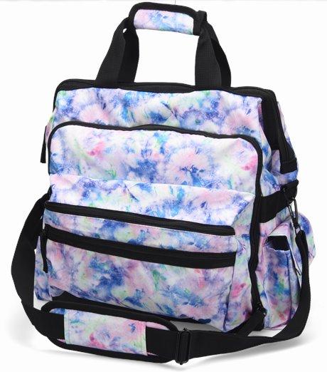 Ultimate Nursing Bag shown in Pastel Garden Tie Dye