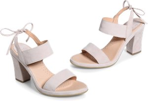 Ebba sandals in Light Pink