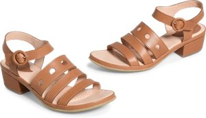 Becka sandals in Brown