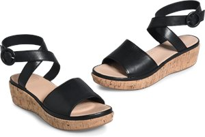 Dreamy sandals in Black