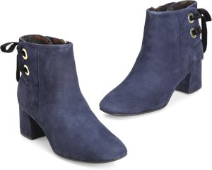 Lloy Boots in Navy Suede