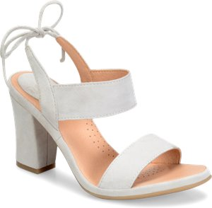 Light Grey Suede ONO Ebba