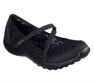 Black Skechers Be-Light - Floral Light - FINAL SALE