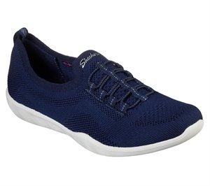 Navy Skechers Newbury St - Every Angle