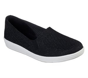 White Black Skechers Madison Ave - Closest Star
