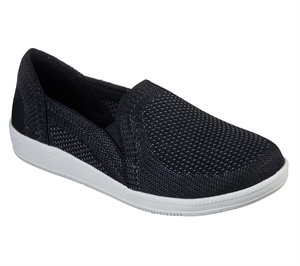 White Black Skechers Madison Ave - Admissible