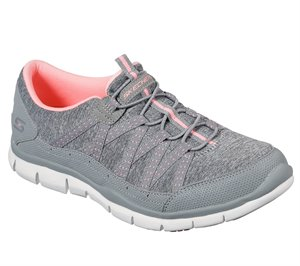 Coral Gray Skechers Gratis - Lets Cruise