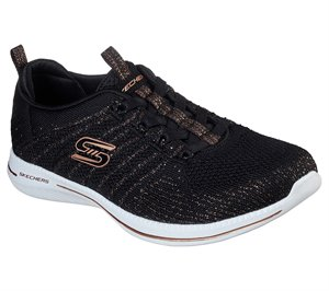 Gold Black Skechers City Pro - Glow On