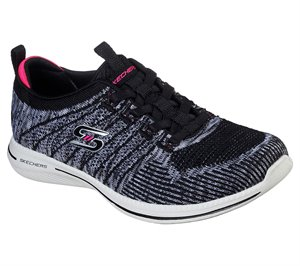 Pink Black Skechers City Pro - Busy Me