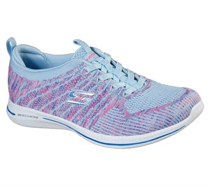 Pink Blue Skechers City Pro - Busy Me