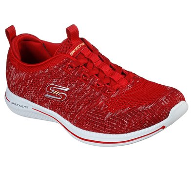 Red Skechers City Pro - Busy Me