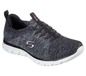 Pink Black Skechers Luminate - She's Magnificent - FINAL SALE