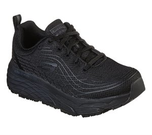 Black Skechers Work Relaxed Fit: Max Cushioning Elite SR - Filchner - FINAL SALE