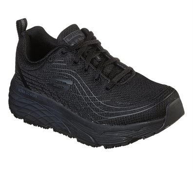 Black Skechers Work Relaxed Fit: Max Cushioning Elite SR