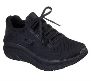 Black Skechers Work Relaxed Fit: D'Lux Walker SR - Ozema