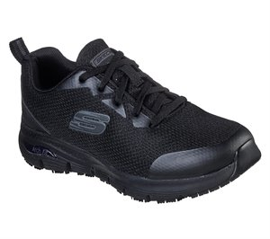 Black Skechers Work: Arch Fit SR
