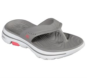 Gray Skechers Cali Gear: Skechers GOwalk 5 - Bali - FINAL SALE