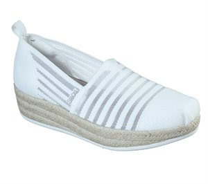 White Skechers BOBS Highlights 2.0 - Homestretch - FINAL SALE