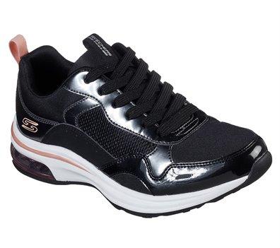 Black Skechers BOBS Sport Pulse Air