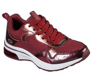 Red Skechers BOBS Sport Pulse Air