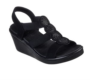Black Skechers Rumble On - Camp Glam