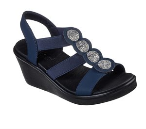 Navy Skechers Rumble On - Camp Glam