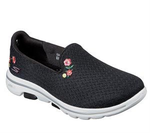 White Black Skechers Skechers GOwalk 5 - Garland